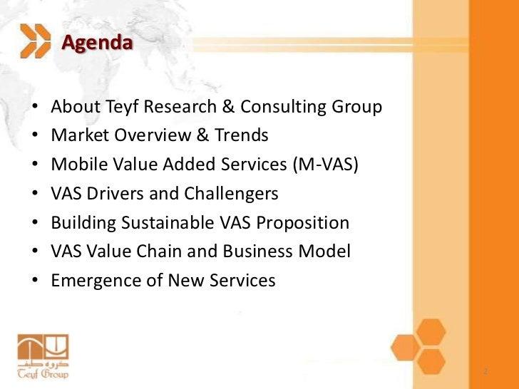 Mobile Value Added Services (M-VAS) Slide 2