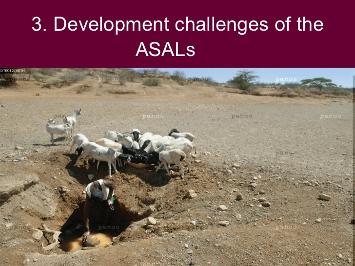 3. Development challenges of the            ASALs