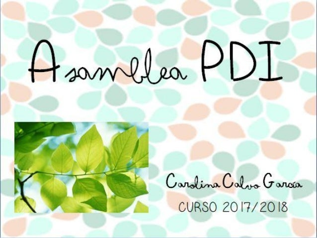 Asamblea PDI