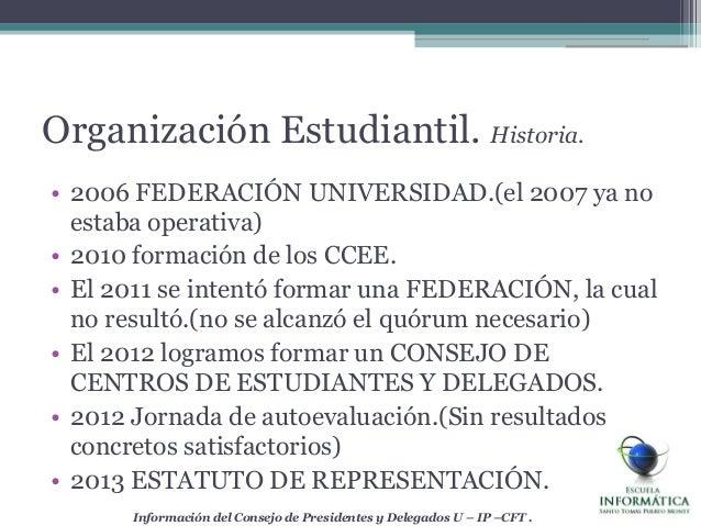 • 2006 FEDERACIÓN UNIVERSIDAD.(el 2007 ya noestaba operativa)• 2010 formación de los CCEE.• El 2011 se intentó formar una ...