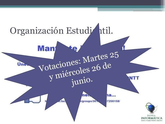 Organización Estudiantil.