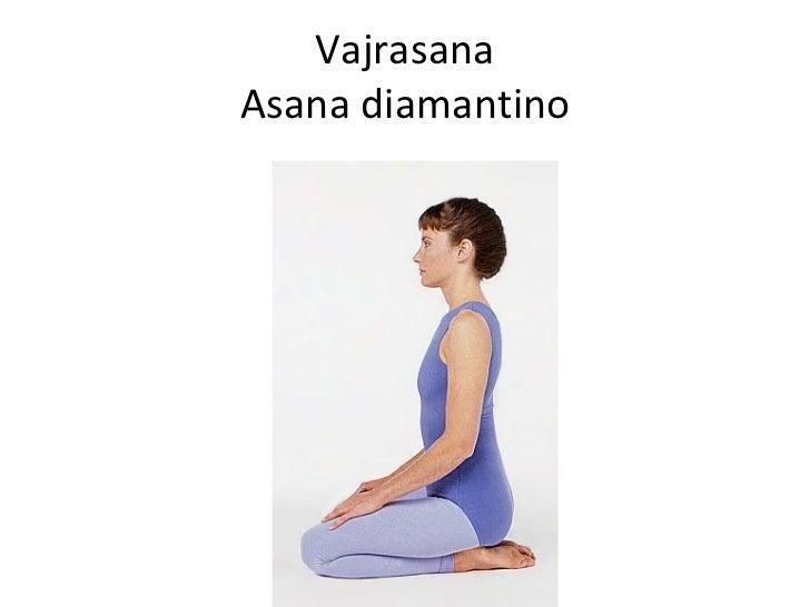 Vajrasana Asana diamantino