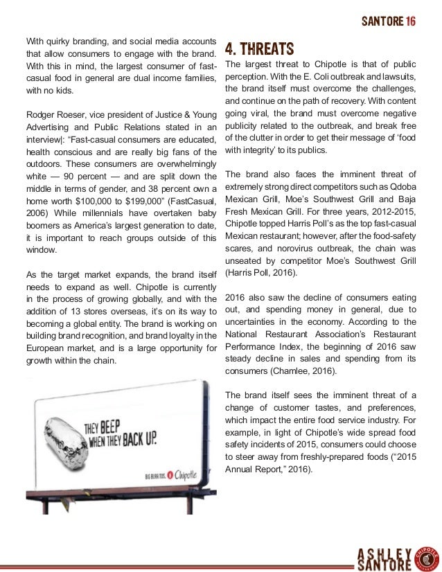 IMC 618 - Chipotle Public Relations Campaign