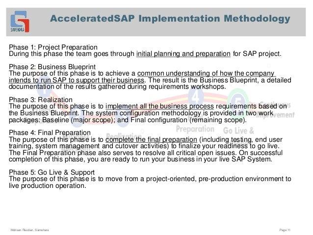 Asap methodology samehara page 10 11 acceleratedsap implementation methodology phase 1 project preparation malvernweather Gallery