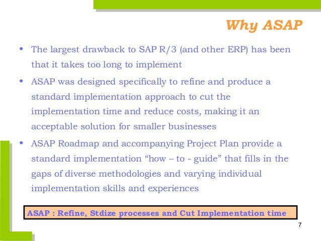 asap overview IMG SAP Documentation SAP IMG Guide