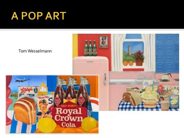 Andy Warhol é a figura maisconhecida e controversa da PopArt.A sua obra centra-se na cultura demassas americanas, comosímb...