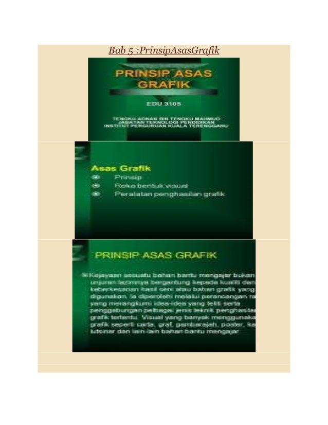 Bab 5 :PrinsipAsasGrafik