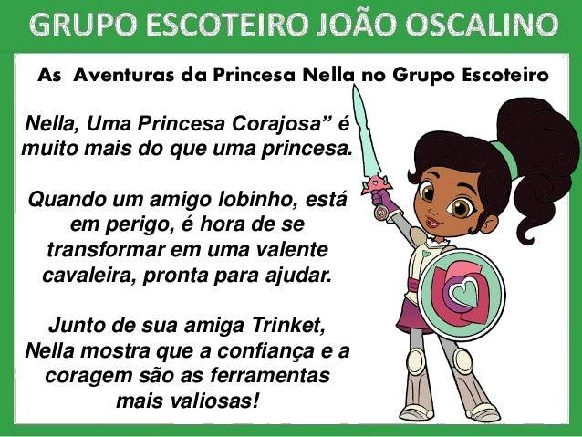 """Nella, Uma Princesa Corajosa"""" é muito mais do que uma princesa. Quando um amigo lobinho, está em perigo, é hora de se tran..."""