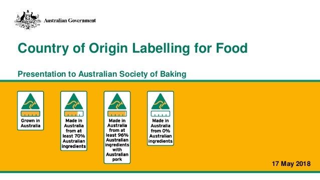 country of origin labelling tool
