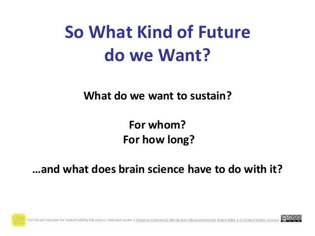 Re-Thinking Our Way to the Future We Want Slide 2