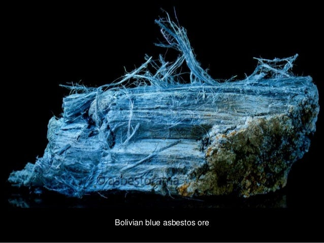Multiple Types of Asbestos in Mineral Form
