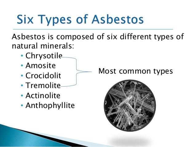 Presentation  Asbestos Fibre