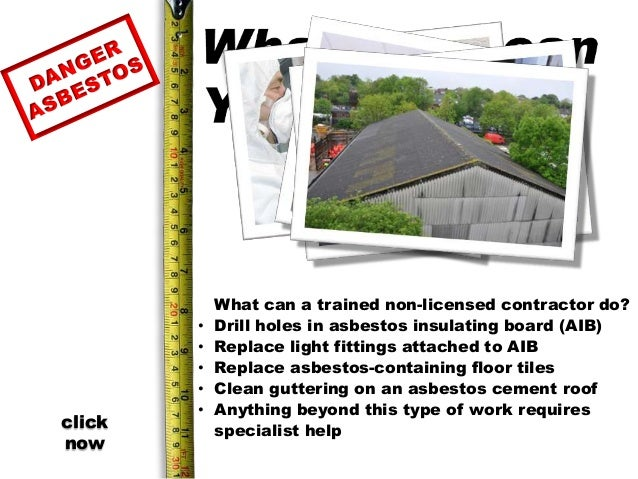 Asbestos learning package