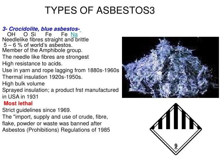 Asbestos 2012 Slideshow