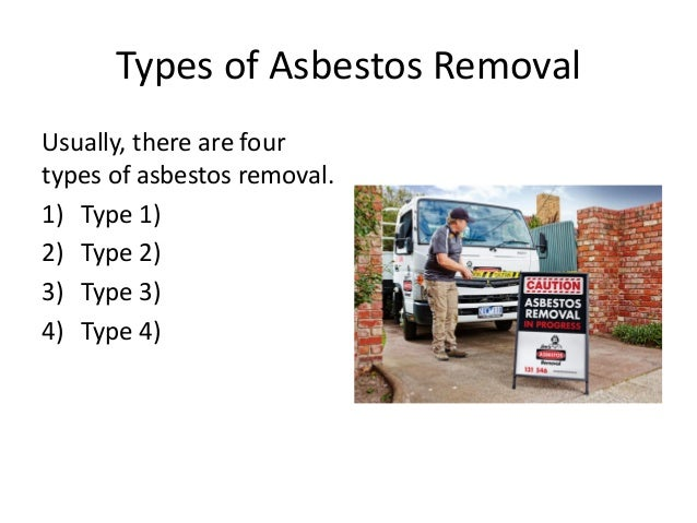 Asbestos abatement or removal its types  benefits