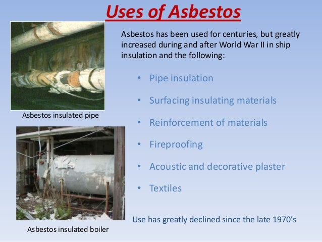 Asbestos As An Environmental And A Health Problem