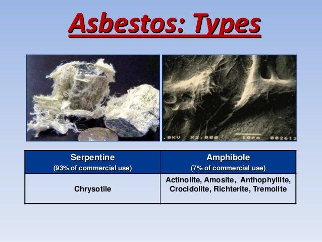 Asbestos as an environmental and a health problem