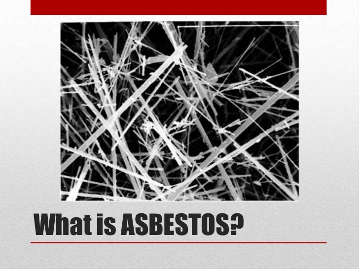 Asbestos Awareness Presentation Contractors Introduction