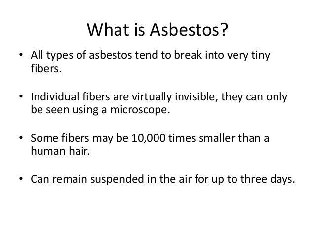 Asbestos Awareness Training By Bie Nmnca