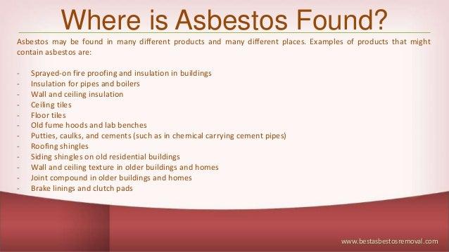Asbestos Awareness Training Best Asbestos Removal
