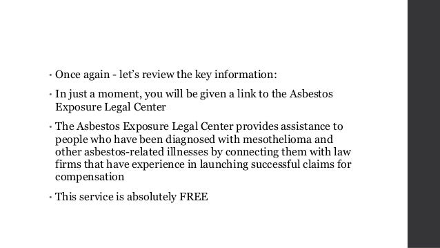 Asbestos Lawyers: You Will Need One for a Mesothelioma Lawsuit