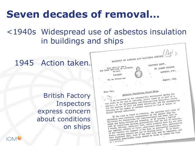 Asbestos Exposure In Demolition Work At Helsinki Asbestos 2014