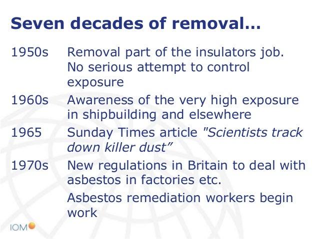 Asbestos Exposure In Demolition Work At Helsinki Asbestos 2014