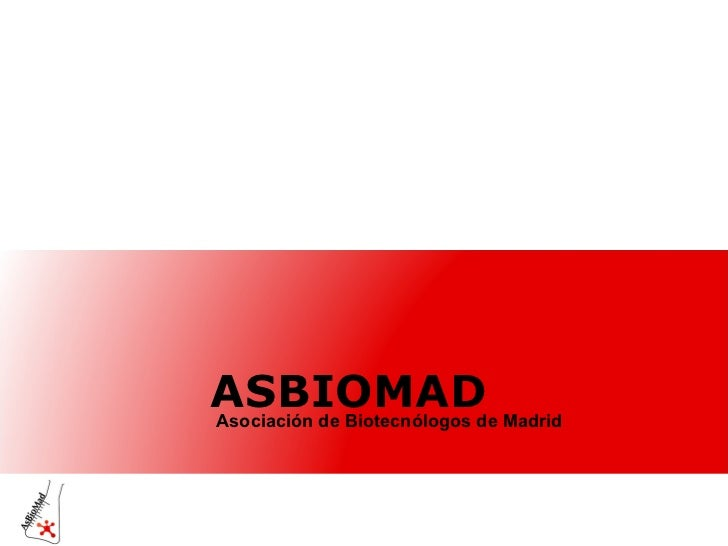 ASBIOMAD Asociación de Biotecnólogos de Madrid