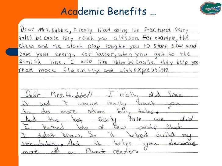 Academic Benefits …