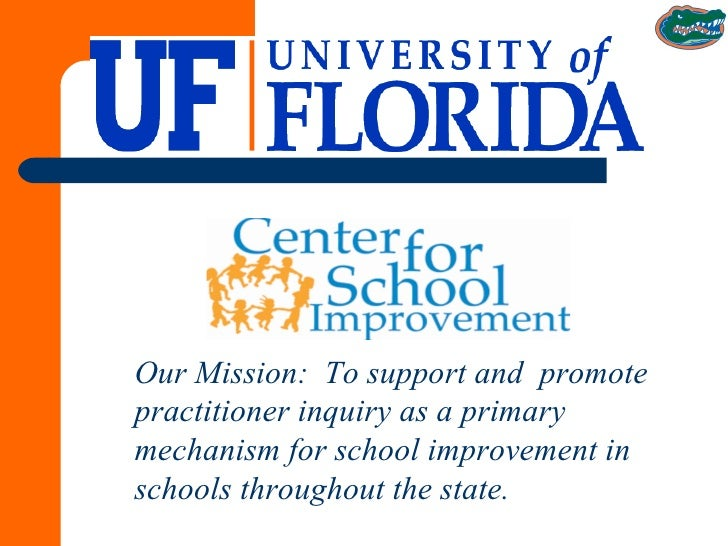 Our Mission:  To support and  promote practitioner inquiry as a primary mechanism for school improvement in schools throug...