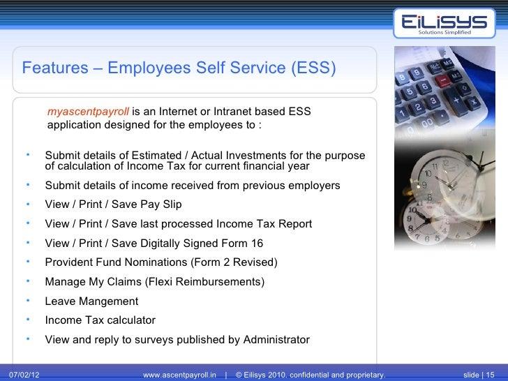 Employee Self Service | Payroll software | Payroll Delhi | Payroll Hy…