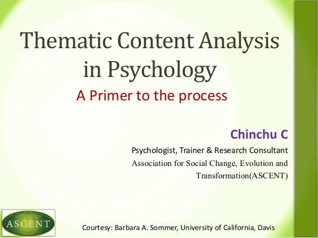 Psychology-1 Parenthood Analysis