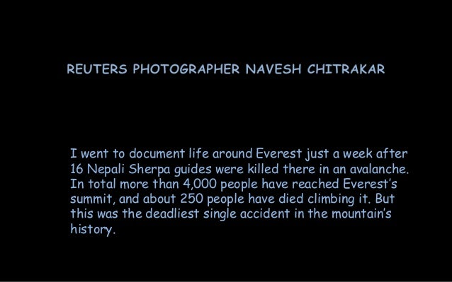 After the  Avalanche-Ascent to Everest Slide 2