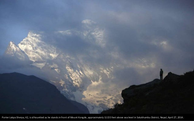 After the  Avalanche-Ascent to Everest Slide 3