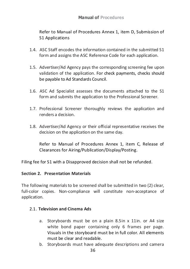 Ad Standards Council Philippines For Responsible Advertising Guideb