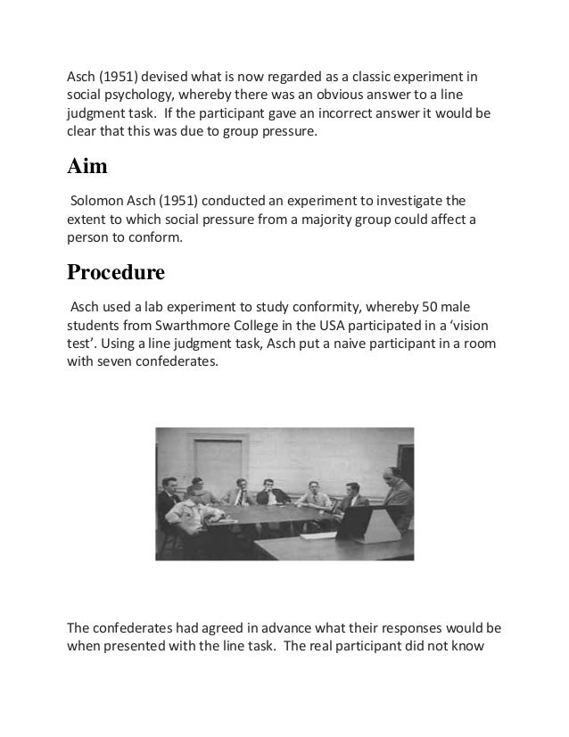 milgram experiment asch experiment and zimbos Home essays milgram experiment, asch milgram experiment, asch experiment, and zimbos prison experiment the milgram experiment was on obedience to authority.