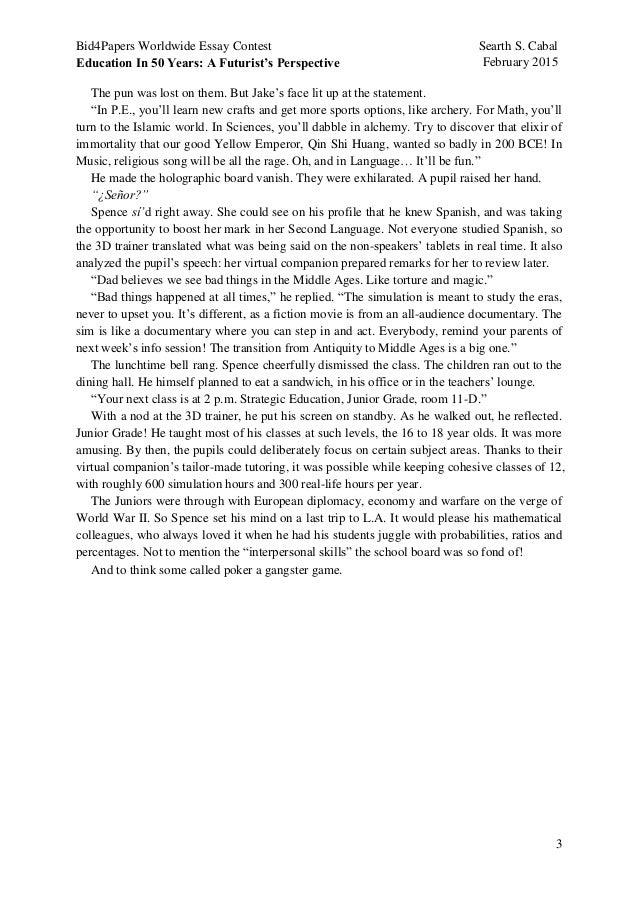 bid4papers essay contest