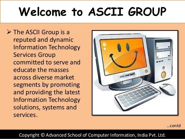 Ascii Slide 3