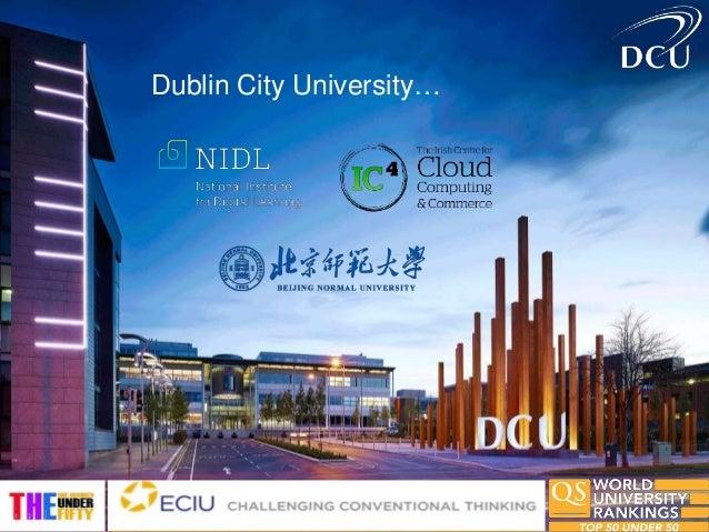 Dublin City University…