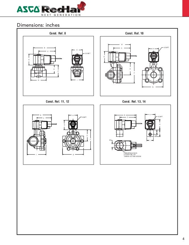 Fantastic Asco Solenoid Valve Wiring Diagram Elaboration Schematic - Asco red hat wiring diagram