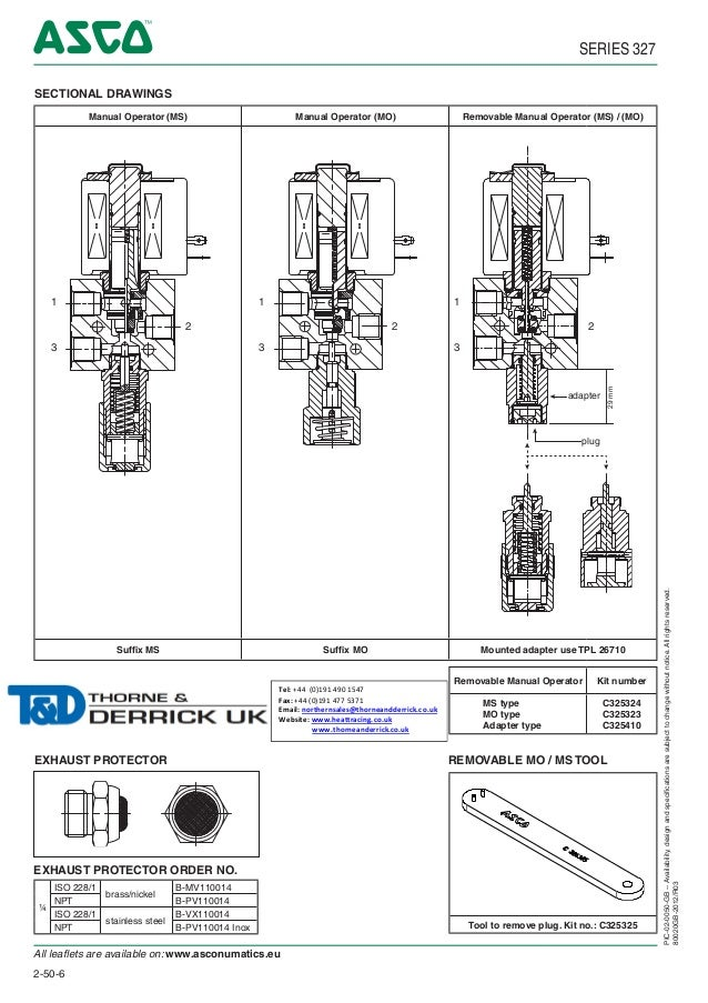 asco atex solenoid valves 327 series spec sheet 6 638 asco valve wiring diagram diagram wiring diagrams for diy car  at highcare.asia