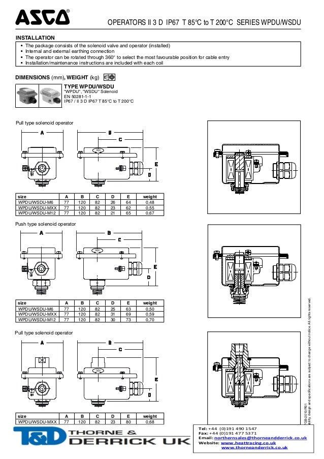 Fancy Asco Solenoid Valve Wiring Diagram Embellishment Electrical - Asco red hat wiring diagram