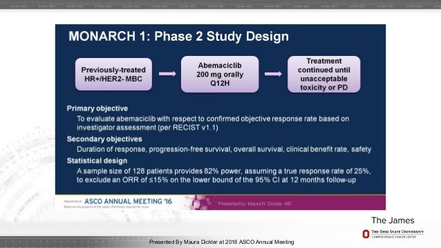 Asco 2016 breast cancer review for O architecture brest