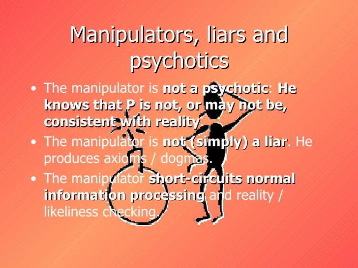 dating a manipulative liars