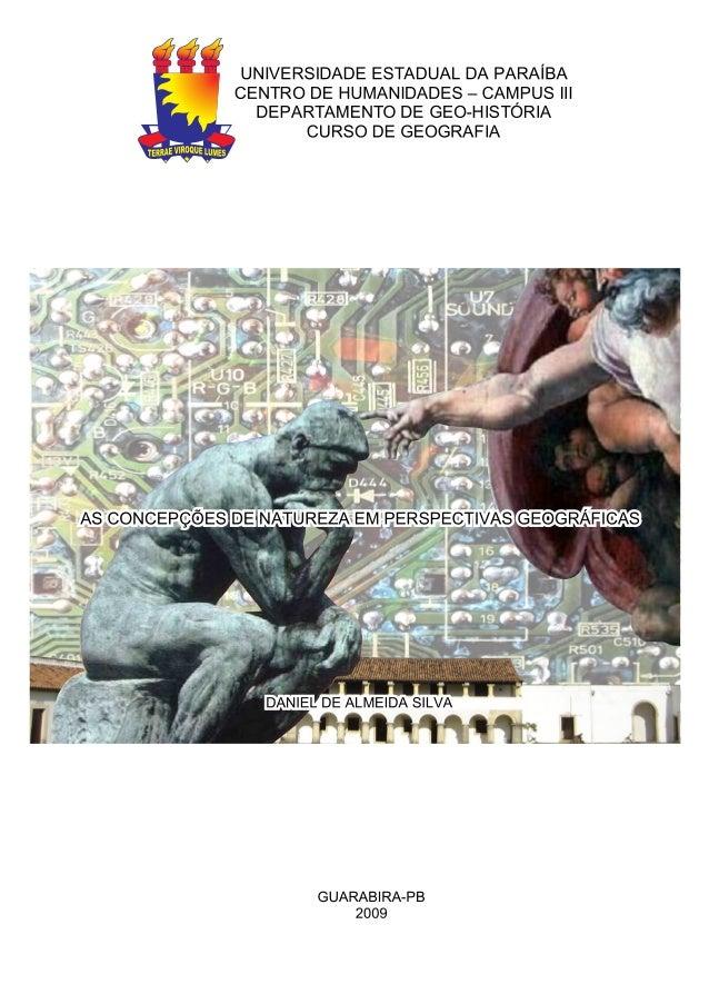 ' 5 I *I P* UNIVERSIDADE ESTADUAL DA PARAÍBA *j CENTRO DE HUMANIDADES - CAMPUS | || Ã,  4 DEPARTAMENTO DE GEO-HISTORIA  _D...