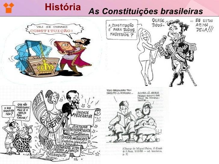 História As Constituições brasileiras
