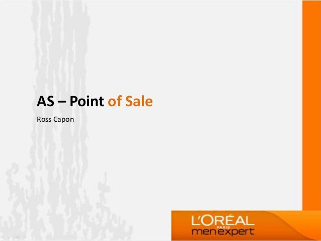 AS – Point of SaleRoss Capon