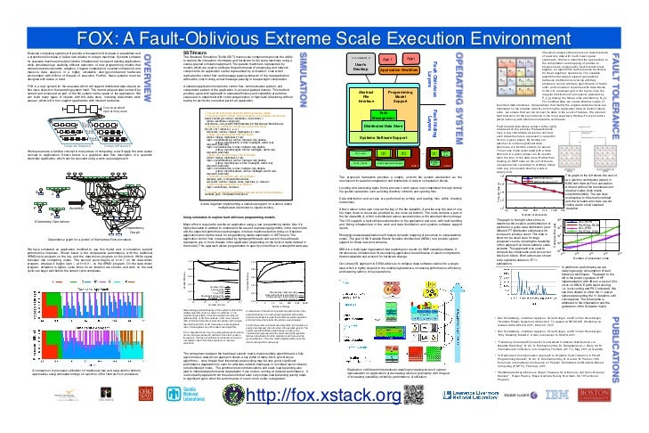 FOX: A Fault-Oblivious Extreme Scale Execution Environment                                                                ...