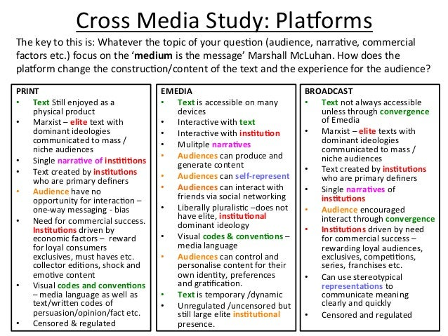 Cross  Media  Study:  PlaEorms   EMEDIA   • Text  is  accessible  on  many   devices   • InteracJv...