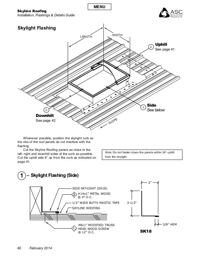 4019 Corrugated Metal Roof Details Dwg likewise How Skylights Work further Asc Skyline Roofing Installation Manual furthermore Perimeter moreover Glass pyramid details. on skylights details